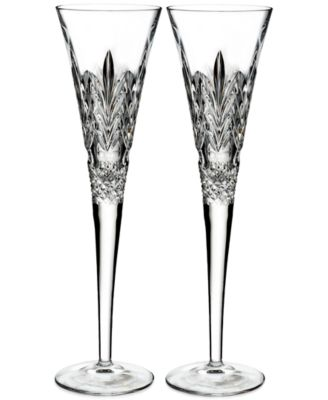 Waterford 2016 Times Square Toasting Flutes