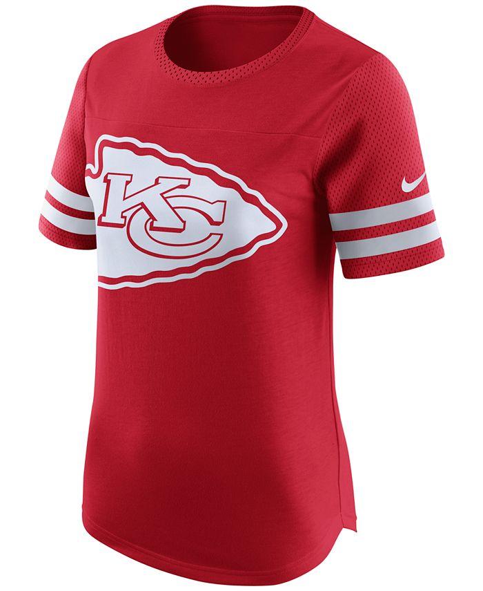 Nike - Women's Kansas City Chiefs Gear Up Fan Top T-Shirt