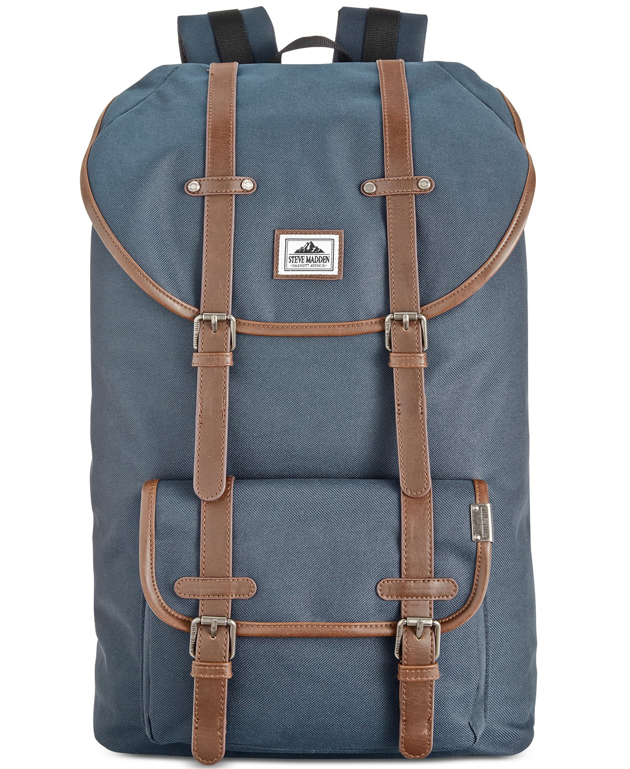 Steve Madden Men's Solid Utility Backpack (Nvy Blue)
