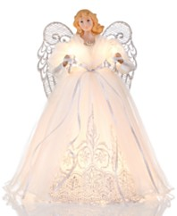 Christmas Tree Toppers Macy's - Christmas Tree Angel Toppers