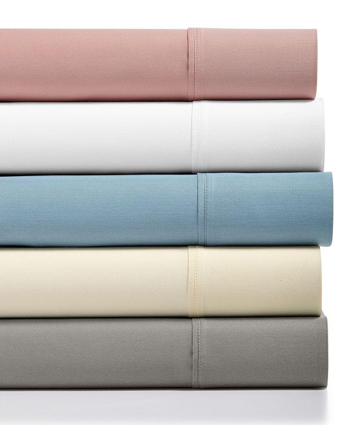 Sunham - Sorrento Solid 500 Thread Count 6-Pc. Queen Sheet Set