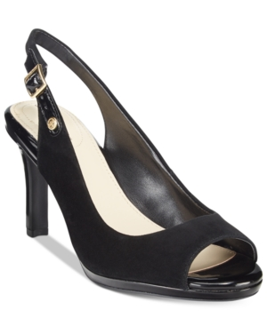 Giani Bernini Blankaa Slingback Heels, Only at Macy's Women's Shoes