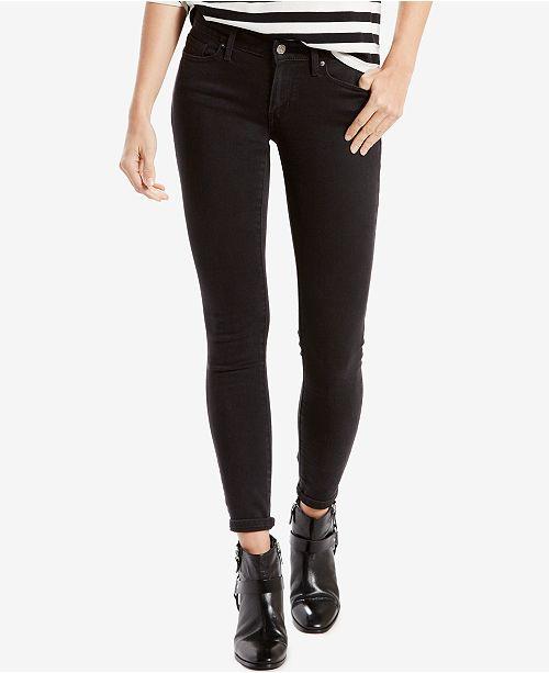 Levi S Women S 711 Skinny Jeans In Long Length Reviews Women Macy S