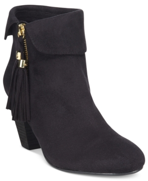 Report Moriah Tassled Ankle Booties Women's Shoes