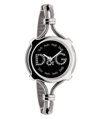 D&G Watch, Women's Lisbon Stainless Steel Bracelet DW0142 - Watches