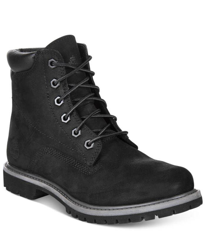 Timberland Women's Waterville Waterproof Lug Sole Boots, Created for Macy's & Reviews - Boots - Shoes - Macy's