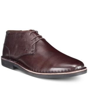 Kenneth Cole Reaction Men's Desert Sun Leather Chukka Boots Men's Shoes