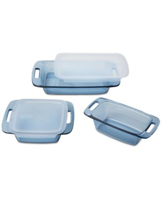 Pyrex 5-Pc. Atlantic Blue Bakeware Set