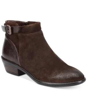 Sofft Vasanti Suede Booties Women's Shoes