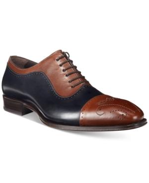 Mezlan Men's Alex Cap-Toe Oxfords, Only at Macy's Men's Shoes