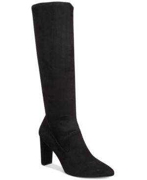 Adrienne Vittadini Nanni Pointed-Toe Tall Boots Women's Shoes