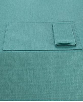 "Colorwave Turquoise Collection 60"" x 84"" Tablecloth"
