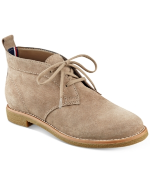 Tommy Hilfiger Blaze Lace-Up Oxford Booties Women's Shoes