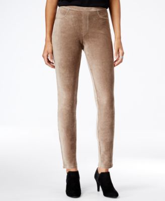 Image of Style & Co. Corduroy Leggings, Only at Macy's
