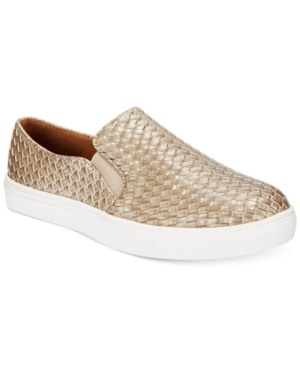 Wanted Boca Woven Slip-On Sneakers Women's Shoes