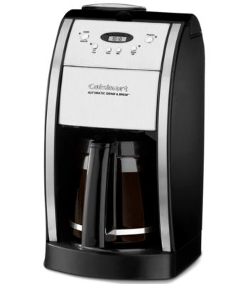 Cuisinart DGB-550BK Coffee Maker, Grind & Brew 12-Cup Automatic