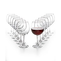 12-Piece Martha Stewart Essentials Red Wine Glasses Set