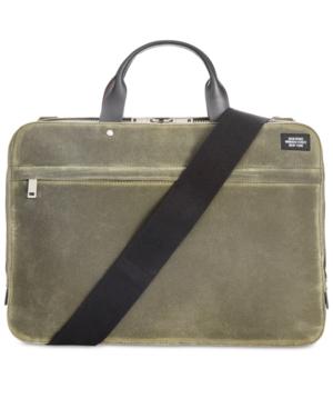 Jack Spade Men's Waxwear Slim Briefcase