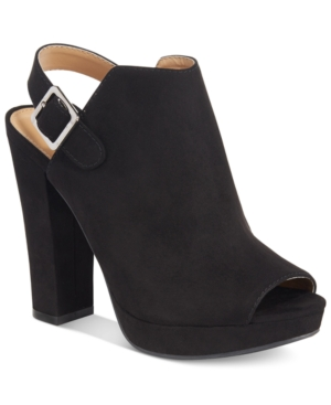 Report Libbie Slingback Booties Women's Shoes