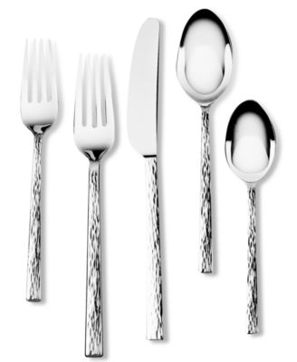 Vera Wang Wedgwood Hammered 5-Piece Place Setting
