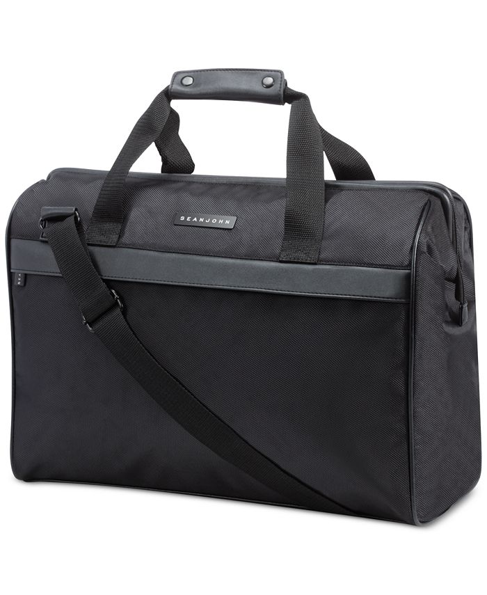 Sean John - Receive a FREE Duffel Bag with any large spray purchase from the  Men's Fragrance Collection