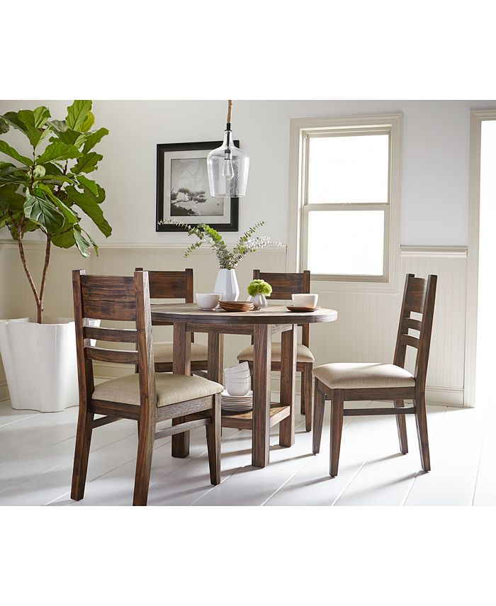 Furniture Avondale Round Dining Furniture Collection Created For Macy S Reviews Furniture Macy S