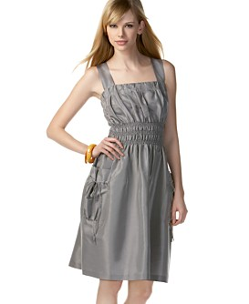 Macy*s -   Women's - 								Kensie Tank-Dress with Tie-Pockets