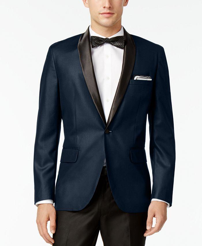 INC International Concepts - Men's Slim Fit Customizable Tuxedo Blazer
