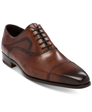 Massimo Emporio Men's Izan Cap-Toe Oxfords Men's Shoes