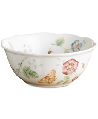 "Lenox ""Butterfly Meadow"" Large All Purpose Bowl"