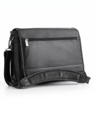 Kenneth Cole New York Laptop Bag, Expandable Messenger