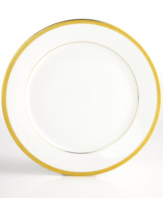 "Charter Club ""Grand Buffet Gold"" Dinner Plate"
