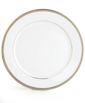 """Charter Club """"Grand Buffet Platinum"""" Dinner Plate"""