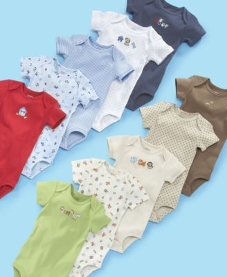 Carter's Baby Boy 5PK Wiggle-In Bodysuits