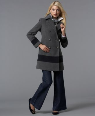 Tommy Hilfiger Double-Breasted Sailor Coat