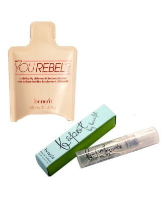 FREE Benefit Sample duo with FREE SHIPPING with $50 Benefit Purchase!