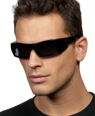 Oakley Gascan Square Wrap Sunglasses