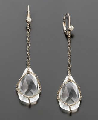 Betsey Johnson Teardrop Earrings