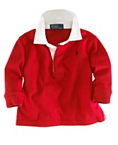 Polo by Ralph Lauren Baby Boy Rugby Shirt
