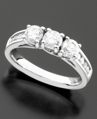 14k White Gold Diamond Ring (1-1/4 ct. t.w.)