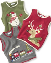 Greendog Baby Boy Graphic Sweater Vest