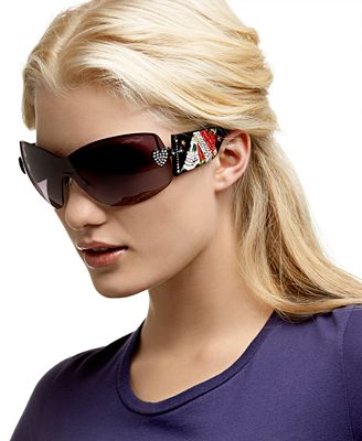 Ed Hardy Zeke Shield Sunglasses