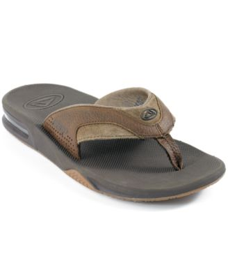 reef fanning thong sandals with bottle opener shoes men macy 39 s. Black Bedroom Furniture Sets. Home Design Ideas