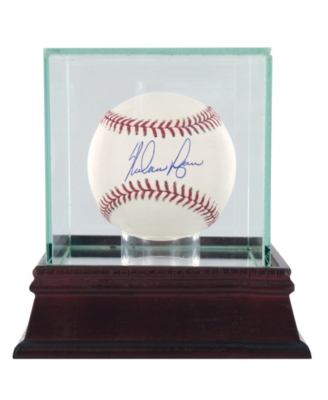 Steiner Sports Nolan Ryan Signed Baseball in Glass Case