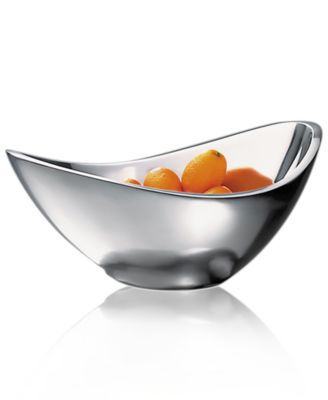 "Nambe ""Butterfly"" Bowl, 11"""