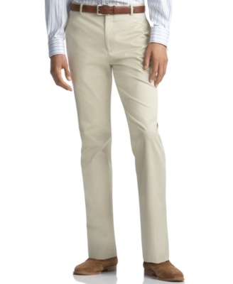 Tommy Hilfiger Pants, Khaki Solid Trim Fit