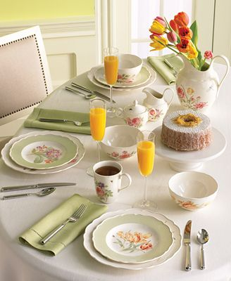 Wedgwood Martha's Garden Dinnerware Collection