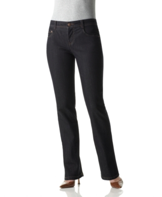 Charter Club Petite Jeans, Classic Fit Straight Leg Dark Wash