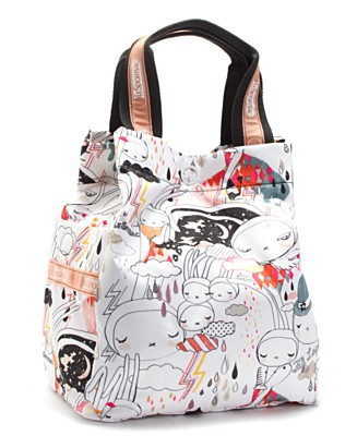 "LeSportsac Artist in Residence ""Window Shopper"" Tote - UNDER $100 - Handbags & Accessories - Macy's from macys.com"