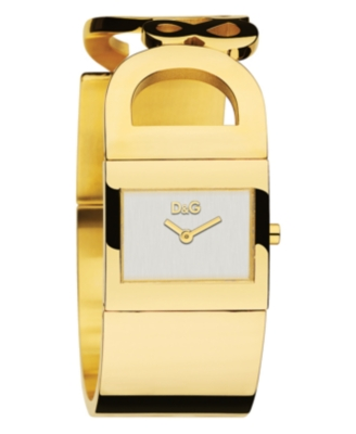 D&G Watch, Women's Festival Goldtone Ion-Plated Stainless Steel Bracelet DW0222